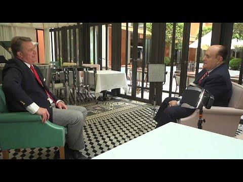 Ο Ρούντι Τζουλιάνι στο Euronews
