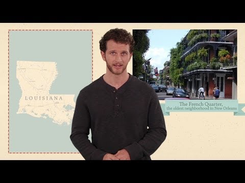 Louisiana - 50 States - US Geography