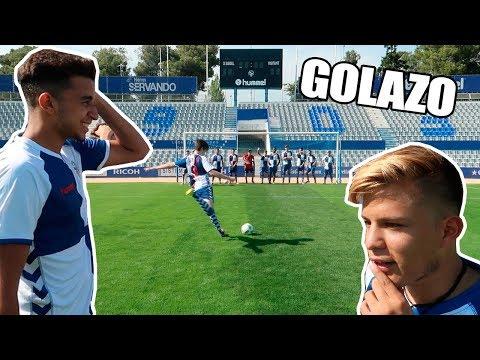 marco mi mejor gol en un reto de fÚtbol vs youtubers