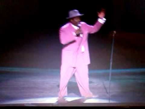 Comedian: J. Anthony Brown