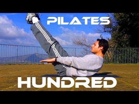 Esercizi di pilates-hundred