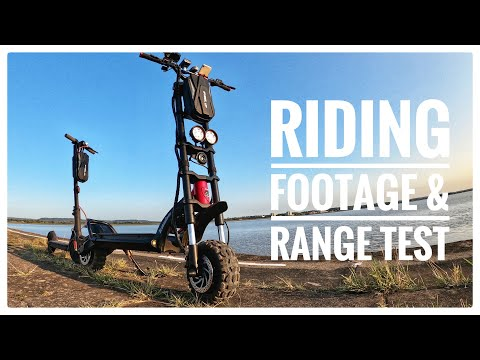 Kaabo Wolf Warrior 11 // Riding Footage & Range Test