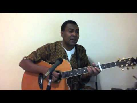 Bob Marley -Redemption Song  .African Guitar Makossa  By Fojeba (Acoustic Guitar)