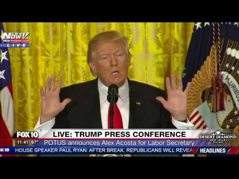 MUST WATCH: President Trump Takes ON CNN Reporter Jim Acosta During Press Conference (FNN)
