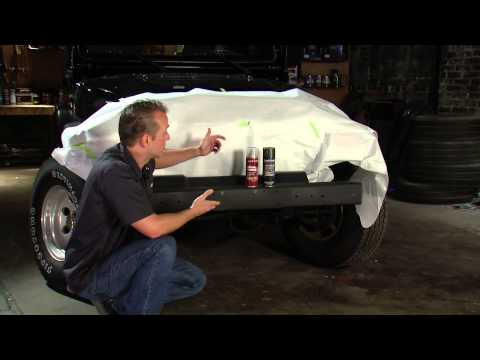 How to paint Jeep Bumpers with Dupli-Color Textured Metallic - Daily Driver Series