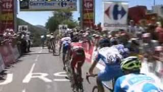 Pamiers France  city pictures gallery : Tour de France 2010 - Résumé Etape 15 - Pamiers - Bagnères de Luchon