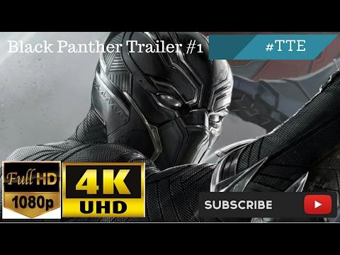 Black Panther Trailer HD   4K #1 [2018]
