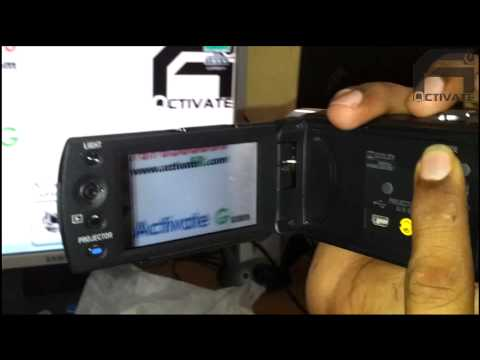 Sony Handycam DCR-PJ5E - Unboxing and a quick review