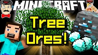 Minecraft TREE ORES! Grow&Harvest All Ores! Ore Orchards&More!