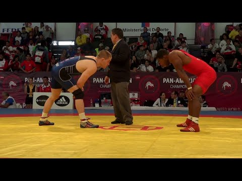 86KG f, Chris Perry, USA vs Yurieski Torreblanca, CUB