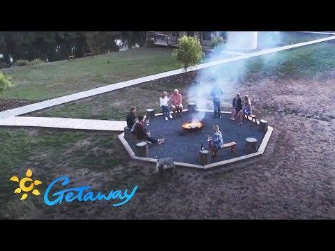 Luxury glamping in Tassie   Getaway 2019 видео