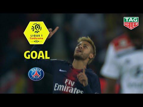 Goal NEYMAR JR (9' pen) / Paris Saint-Germain - Olympique Lyonnais (5-0) (PARIS-OL) / 2018-19