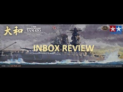 1/350 YAMATO TAMIYA PREMIUM EDITION IN BOX REVIEW