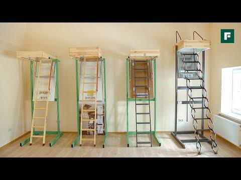 Металлическая чердачная лестница LST