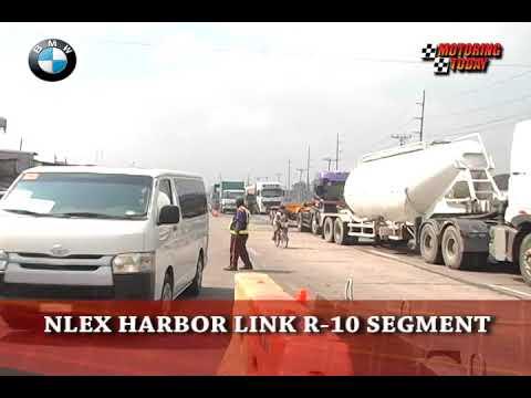 NLEX HARBOR LINK R-10 SEGMENT   MOTORING NEWS