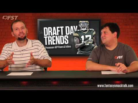 2015 Fantasy Football Preseason Risers and Fallers thumbnail