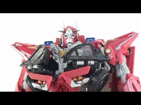 optibotimus - Optibotimus Video Review of the Transformers 3 Dark of the Moon (DOTM); Leader Class Sentinel Prime.