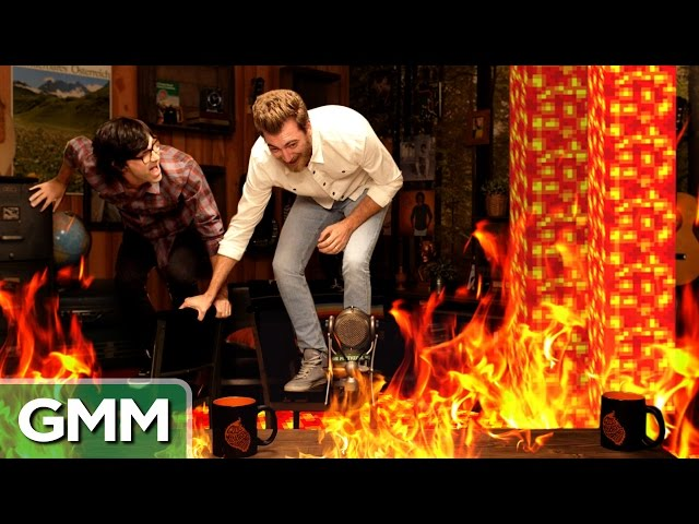 Good Mythical Morning In Spanish : The floor is lava game mp fordfiesta