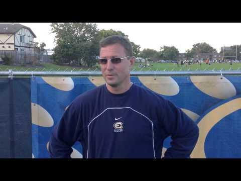 Women's Soccer - UW-Eau Claire vs. Wartburg, IA - Coach Yengo Post-Game