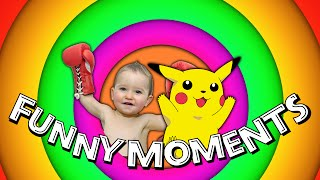 Funny Videos&Moments #3★  DANCING POKEMON&CUTE BABIES (YouAlwaysWin)