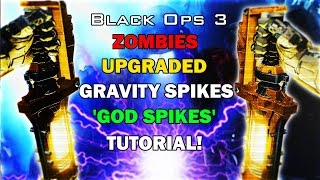 ♔SUBSCRIBE! for the FRESHEST! B03 Zombies Videos!♔Support the video by spending 1 second clicking the 'Like' Button!Thanks :)FOR ★VIP★ ACCESS TO ALL MY GLITCH VIDEOS LIKE! MY FACEBOOK PAGE!http://www.facebook.com/applemasteredThis video is a tutorial on how to get unlimited use from the gravity spikes in black ops 3 zombies essentially allowing you to survive for as long as you choose to created what is called the GOD SPIKES!!  ENJOY :) and if this worked for you Smack the LIKE! then SUBSCRIBE! Button real fast ;)