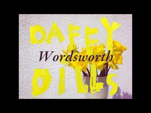 Daffy Dills (from Wordsworth)