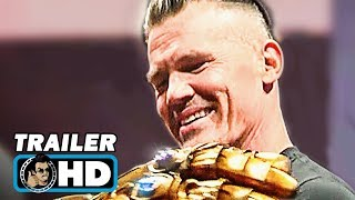 Video D23's MARVEL Booth Footage - Josh Brolin with Thanos Infinity Gauntlet & Black Panther (2018) MP3, 3GP, MP4, WEBM, AVI, FLV Mei 2018