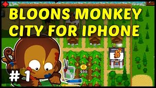 Bloons Monkey City videosu