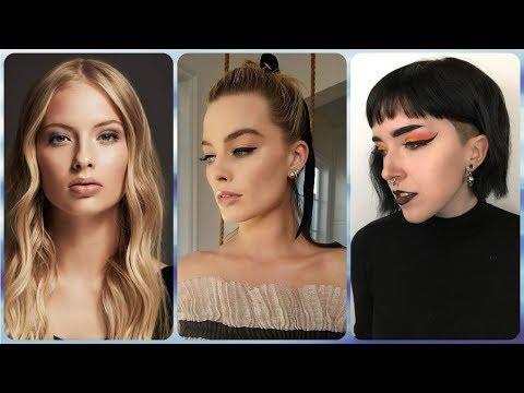 Corte de cabelo - 20 ideias cortes de cabelos curtos lisos e finos verao 2018