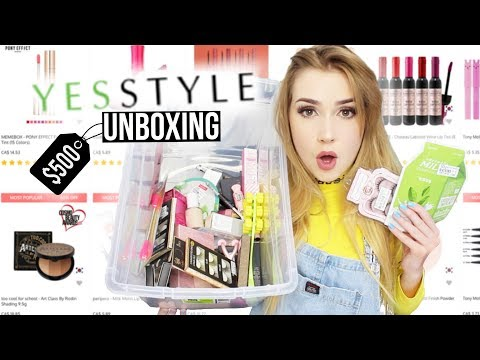 $500 OF KOREAN MAKEUP FROM YESSTYLE!!   This is what I got