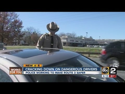 Maryland State Police crack down on Route 3