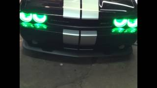 Custom lighting on a challenger