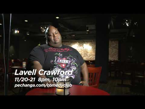 Pechanga Comedy Club - Lavell Crawford Interview