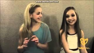 Sally Miller Interviews with Chloe Lukasiak and Maddie Ziegler