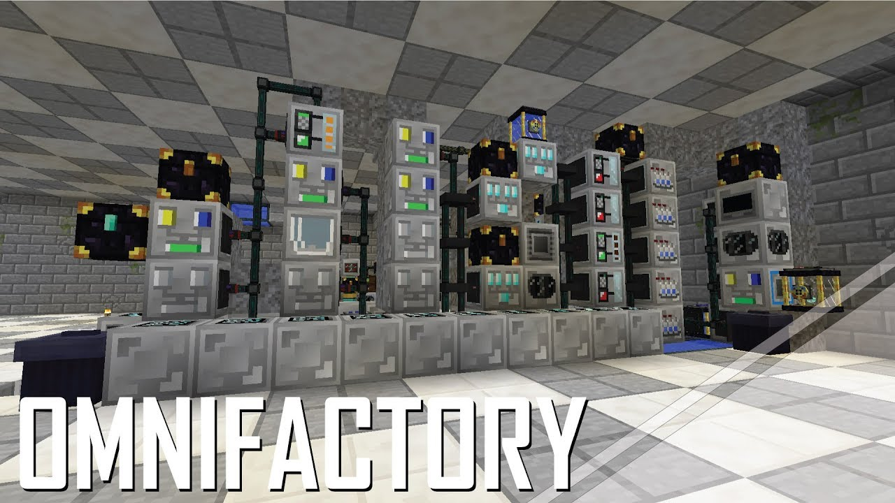 Omnifactory - 12 - FIRST BIG AUTOMATION WITH SOME MINOR ISSUES