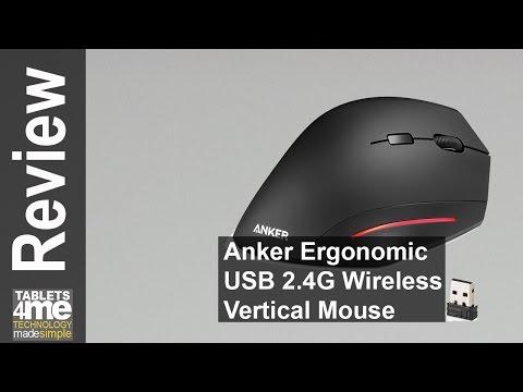 Anker Ergonomic USB 2.4G Wireless Vertical Mouse