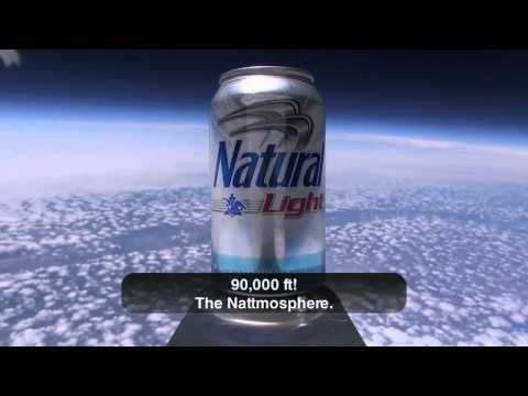 Natural Light – First Beer in Space