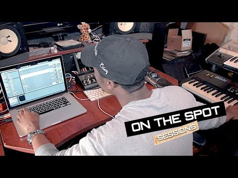 Chris Brown Producer Makes A Beat ON THE SPOT - K Quick ft Gaetano