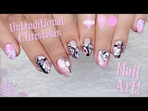 Untraditional Christmas Nail Art  (Collab With Sarah's Nail Secrets)