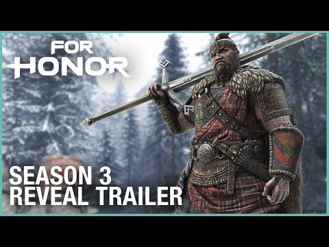For Honor: Season 3 – Highlander, Gladiator, Maps, Ranked Mode | Trailer | Ubisoft [US] (видео)