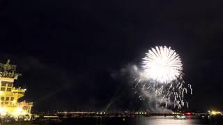 Timelapse les tonnerres de Brest 2012