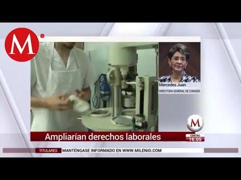 Ampliarían derechos laborales: Mercedes Juan