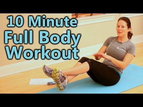 Full Body Cardio Workout at Home for Beginners, 10 Minute Exercise Routine & Fitness Training