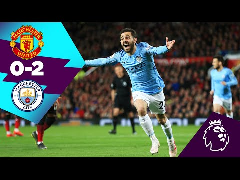 MAN UNITED 0-2 MAN CITY HIGHLIGHTS | On This Day 24th April 2019