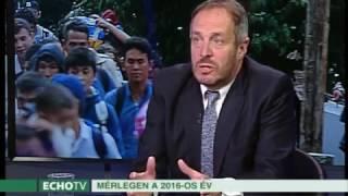Echo Tv, Heti Mérleg 2016. december 25. – Európa józanodik (Beszélgetés Hölvényi Györggyel)