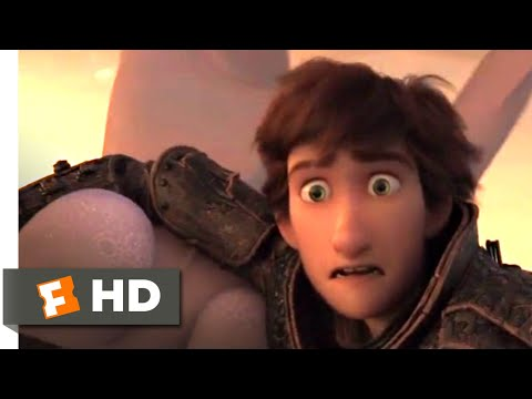 How to Train Your Dragon 3 (2019) - Hiccup Saves Toothless Scene (8/10) | Movieclips