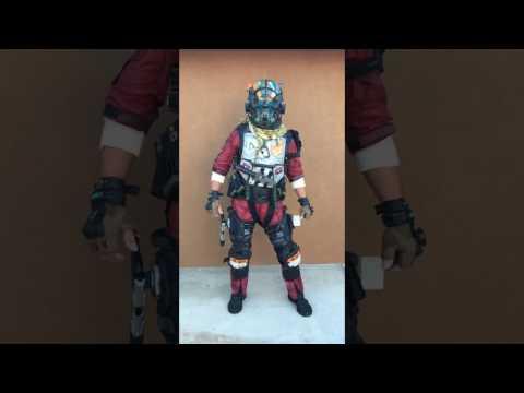 Titanfall 2 Pilot Full Suit M-Cor Elite 6/4 Costume Cosplay