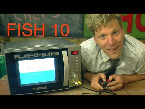 Inventor Colin Furze Turns a Microwave Oven Into a Video Game Console to Play While