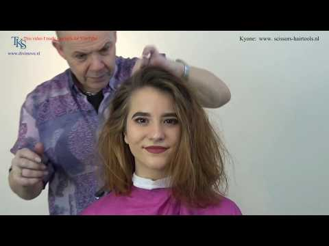 Short haircuts - Keri donates her long hair and get a Bob and new color! Tutorial by T.K.S.