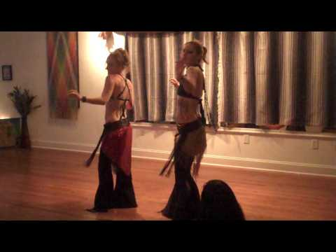 The Forbidden Bellydances in Asheville North Carolina - Belly Dance Duo!